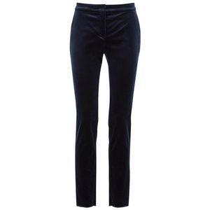 MaxMara Pants & Jumpsuits - MaxMara Studio Tacito Velvet Slim Trousers Size 12